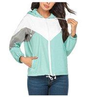 Women's Jackets Outdoor Waterproof Soft Windbreaker Ski Splicing Coat Hiking Rain Camping Fishing Tactical