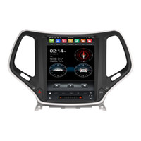 """Carplay Tesla Style PX6 9.7 """"Android 9.0 coche DVD DVD DSP Radio GPS para Jeep Cherokee 2016 2017 2018 Bluetooth 5.0 WiFi Easy Connect"""