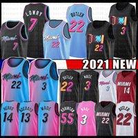 Miami Heat Jimmy 22 Butler Dwayne Dwyane 3 Wade Basketball Jersey 13 Bam Tyler 14 Herro Adebayo Goran 7 Dragic Duncan 55 Robinson Kendrick 25 Nunn Nunn