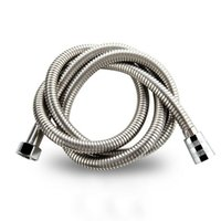 Shower Hose 2 M Universal Stainless Steels Replacement Steel Chrome Bathroom Pipe