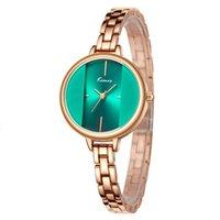 Kimio Watch PC21 Quarz wasserdichte Ladi-Armbanduhr