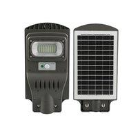 Güneş Lambaları Su Geçirmez LED Işık Rader Hareket Sensörü Açık Bahçe Duvar Lambası 30 W Uzaktan Kumanda Powered Sokak Sundurma