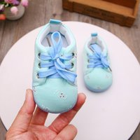 First Walkers Children's Shoes Baby Girls Toddler Soft-soled Spring And Autumn Boys' 0-1 Year Old Infant Lace-up