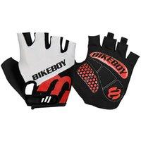 Bikeboy Reithandschuhe Halbfinger-Mountainbike-Handschuhe Herren- und Frauen-Radausrüstung Kurzfingerhandschuhe