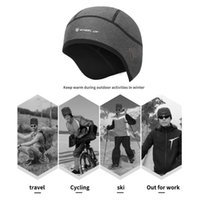 Cycling Caps & Masks Winter Windproof Cap Ear Protection Warm Hat Helmet Lining Suitable For 52-58cm Head Circumference Skiing Reliable