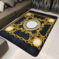 Designer de luxo tapete sala de estar quarto antiderrapante grande tapete de tapete de tapete de cozinha tapetes de cozinha tapetes