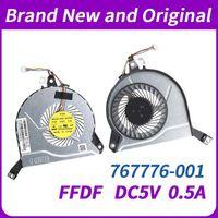Fan Fan Original Laptop Cooling Fan para Pavilhão 15-P 14-V 14-U 15T-K 15-K 17-F TPN-Q140 TPN-Q143 DFS200405040T