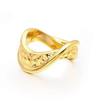 VAROLE Punk Distorted Space Rings For Women Gold Color Unique Irregular Ring Fashion Jewelry Gift Party Anillos Mujer