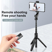 Phone Holder Folding Remote Shutter Outdoors Selfie Stick Tr...