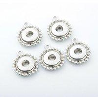12 мм Noosa Chanks Base Charms Подвеска для ожерелья и браслетов DIY Ювелирные изделия Аксессуар для ювелирных изделий Сменные биржевые Кнопки имбиря