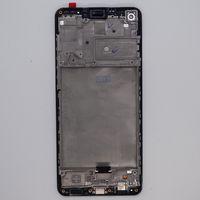 Display LCD per Samsung Galaxy A21S A217 OEM Pannelli a schermo Amoled Scherm Pannelli Digitizer Sostituzione del gruppo con telaio