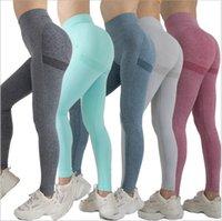 Seamless Leggings Sport Women Fitness Push Up Yoga Pants High Waist Squat Proof Workout Running Sportswear Gym Tights