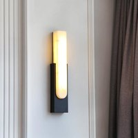 Wall Lamps FSS Modern Chinese Marble Lamp Light Luxury Long Strip For Bedroom Living Room Corridor Aisle Decorative