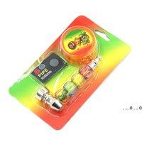 1 Impostazione del fumo con 1 pz Tabacco Herb Grovvermesh Pocket Screen Borse a tubo di erba Accessori per fumo EWB5320