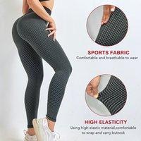 Kadın Giyim Tayt Kadınlar Popo Kaldırma Egzersiz Tayt Artı Boyutu Spor Yüksek Bel Yoga Pantolon
