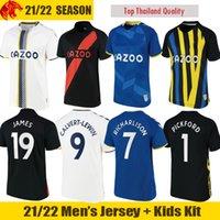 Футболка 21 22 Everton FC JAMES ALLAN 2021 2022 CALVERT-LEWIN RICHARLISON SIGURDSSON Футболка PICKFORD Goalkeeper Y.MINA мужское джерси и детская форма