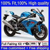 Injectie voor Suzuki GSXR 1000CC 1000 cc 2009 2010 2011 2012 2013 2015 2016 Body 28NO.82 K9 GSXR-1000 GSX-R1000 09-16 Blauw Zilver GSXR1000 09 10 11 12 13 14 16 OEM FACKING