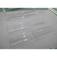 Boîtes de stylo Boîtes en acrylique Porte-stylo pour stylo pour stylo en cristal Boîte d'emballage sous forme fes jllltu Homeecart