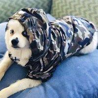 الفاخرة القرش المطبوعة الكلب سترة يندبروف المعطف الحيوانات معطف واق من المطر كلاب كبيرة جرو معطف كلب صغير طويل الشعر كورجي bichon poodle