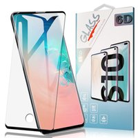Case Friendly Tempered Glass For Samsung S21 Ultra Note20 S20 Plus Fingerprint Unlock Screen Protector For Galaxy Note10 S9 S7 Edge with Box