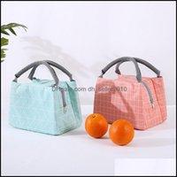 Hanging Kitchen Storage Housekee Organization Home & Gardenhanging Baskets Lunch Geometric Patterns Bag Insated Thermal Cool Bags Picnic Dri