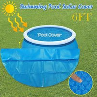 Pool & Accessories Round Cover Protector 6FT Foot Above Ground Blue Protection Swimming Insulation Film Solar Foil