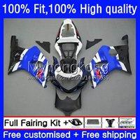 Body de moulage par injection pour Suzuki GSXR1000 K2 GSXR-1000 00 01 02 Bodywork 24no.43 GSXR 1000CC 1000 CC 00-02 GSX-R1000 2000 2001 2001 2002 Stock Blue Moto Caréning