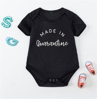 Rompers Made In Born Boys Girl Romper 0-24Months Summer Baby Jumpsuits Spring Autumn Clothes Kids Outfits Tops Tees