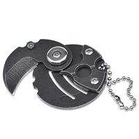 Mini Münze Messer Schlüssel Schnalle Anhänger Klappmesser Camping Defence EDC Outdoor Multifunktionales Werkzeug HW146