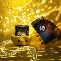 Holiday party supplies Free 6 Sets Of Slides Crown Duck Star Light Projection LED Remote Control Music Bluetooth Projector Halloween Christmas Gift