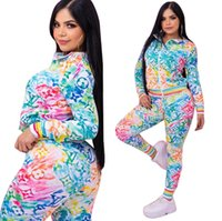 """LV""""LOUIS""""VITTON VUTTON Women Tracksuits Casual Long Sleeve Top And Elastic Waist Pants 2 Piece Sets Printed Suits"""
