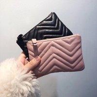 Designer Brieftasche Luxus Münze Geldbörse Schlüsselbeutel Kartenhalter Weiche Leder Weibliche Reißverschluss Reise Organizer Frauen Mini Aufbewahrungstaschen Kleine Brieftaschen