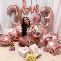 Party Decoration Rose Gold Wedding Birthday Supplies Disposable Tableware Set Cake Stand Anniversary Event Decor Balloons
