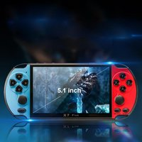 Portable Game Players X7 Plus Box Full Color 5.1 Inch Handheld Player Retro Video Console