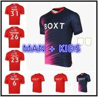 Adam Çocuk Seti 21 22 Nottingham Orman Futbol Formaları Ev Uzakta Kırmızı Mavi Lolley Grabban 2021 2022 Watson Nakit Futbol Gömlek Silva Ameobi Boyutu 16-2XL