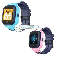 DHL A60 Kinder Smart Uhren WiFi Fitness Armbanduhr mit GPS verbunden IP67 Wasserdicht 4G SIM Mobile Smartwatch für Kinder