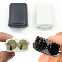 Sacchetti di stoccaggio per Xbox 360 Controller wireless Battery Battery Battery Case Cover Portabicchieri Colore solido Accessori in plastica