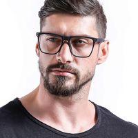 Moda occhiali da sole Cornici Eleccion TR90 Occhiali ottici Occhiali telaio Uomo Full Rim Square Myopia Eye Glass per occhiali da vista per occhiali da vista Eyewear