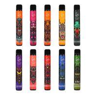 High Quality E cigarettes ELF Bar Lux Disposable Vape kit 1500 puffs Pen 850mAh Battery Pre-filled 4.8ml Oil Pod Device pk bang xxl