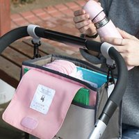 Diaper Bags Baby Stroller Bag Nappy Mummy Hanging Basket Storage Organizer Travel Feeding Bottle Accessories