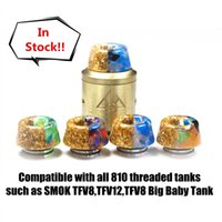 Resin Drip Tips mouthpiece for 810 Threaded Tanks such as SMOK TFV8,TFV12,TFV8 Big Baby Tank