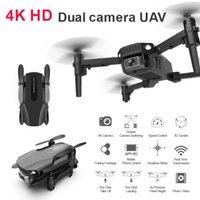 2021 NUOVO R16 Mini Drone 4K HD Camera WiFi FPV Pressione dell'aria Altitudine Hold 15 Minute Battery Life Pieghevole Quadcopter RC Dron Giocattoli