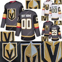 Vegas Golden Knights نسخة حفر الساخنة جيرسي 29 مارك أندريه فلوري 61 مارك ستون 75 ريان ريد 71 وليام كارلسون الهوكي الفانيلة