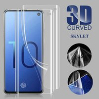 Screen Protector Soft TPU Protector Film PET Plastic Curved Glass For Samsung S10 S10PLUS S9 NOTE 9 S8 NOTE 8 Note 10 Pro without Box