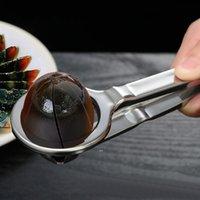 Newegg cortador de acero inoxidable alambre huevo rebanador práctico huevos hervidos huevos de corte herramienta herramientas de cocina duraderas gadgets EWD7761