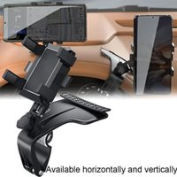 Cell Phone Mounts & Holders Car Holder Support Stand Degree Rotation Bracket Universal Mobile With Parking Card Automotive Goods
