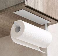 Hot Garden Home House Roll Holder, Bogeer самоклеящаяся кухонная бумажная бумажная держатель, алюминиевая кухонная бумага для ванной комнаты
