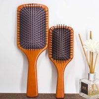 Аватарная воздушная подушка гребня парикмахерская стиль воздушной сумки гребень бука массаж по уходу за массаж твердой древесины воздушная подушка гребень