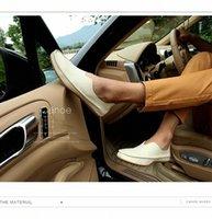 Nouveaux Hommes Casual Chaussures en cuir Respirant Mocassins Mocassin Mâchemin Confortable Appartements Soft Chaussures Légende Chaussures de conduite Big Taille 73ko #