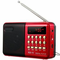 Radio Mini Portable FM Speaker LCD Digital USB SD TF Card Mp3 Player Support Multifunctional For Laptop PC Mobile Phone